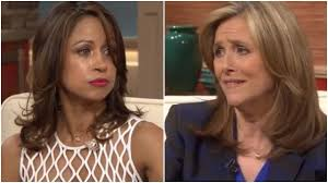 Stacy Dash and Meredith Viera